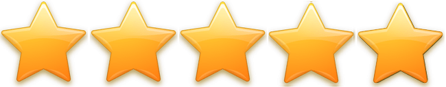 Testimonials 5 star rating
